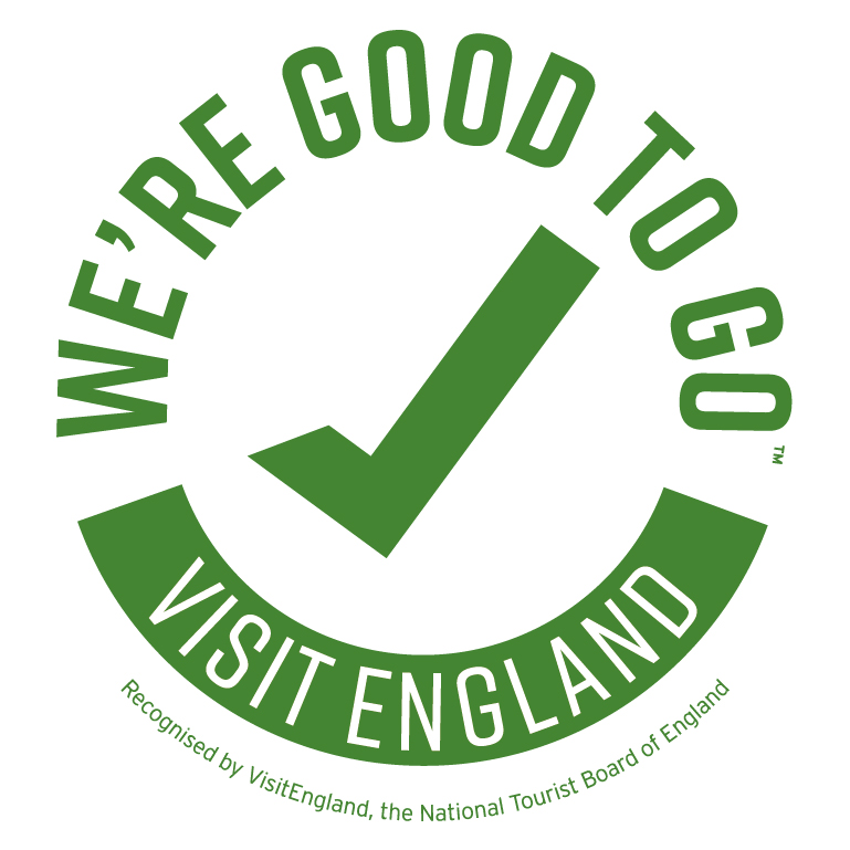 [We're good to go! Visit England]